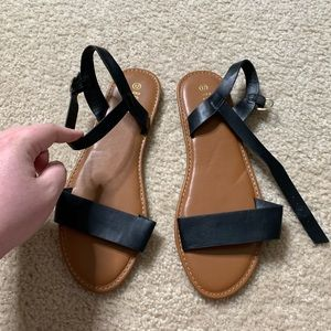 Shoes - Size 12 Black Sandals